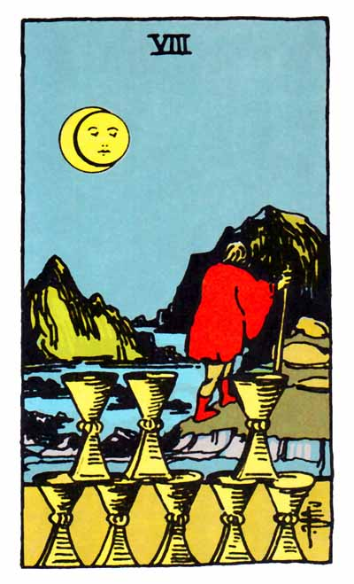 Eight of Cups Love