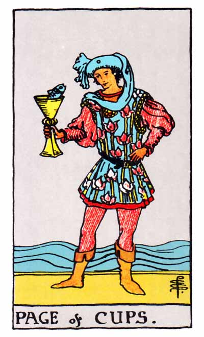 Page of Cups Love